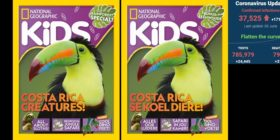 National Geographic Kids June 2020 editions with SA covid-19 stats 3 Jun 2020 - Media Hack Collective