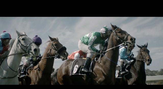 "Nedbank ""Reins"" TVC screengrab: filly racing"