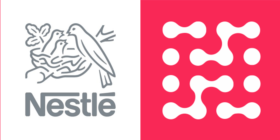 Nestlé logo and Hoorah Digital logo