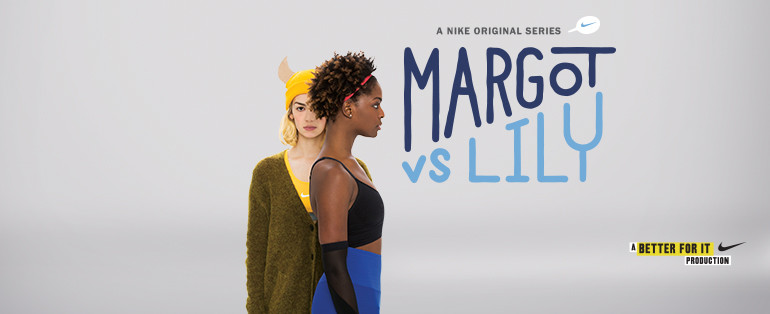 Nike Women Margot vs Lily Facebook cover image