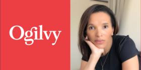 Ogilvy logo and Elouise Kelly