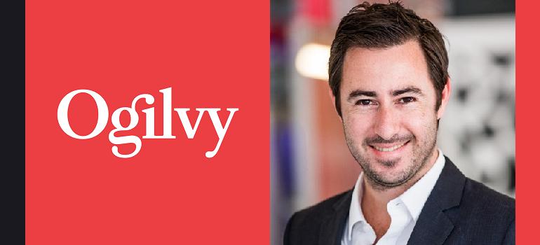 Ogilvy logo and Luca Gallarelli