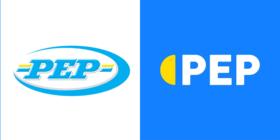 Old Pep logo and new Pep logo 2020