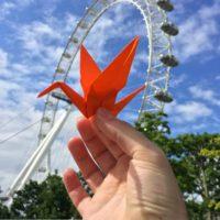 Raisin.com and Retroviral origami crane Waterloo
