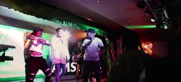 Owen Kessel Leo Burnett Amstel Amplified Karaoke screengrab 04