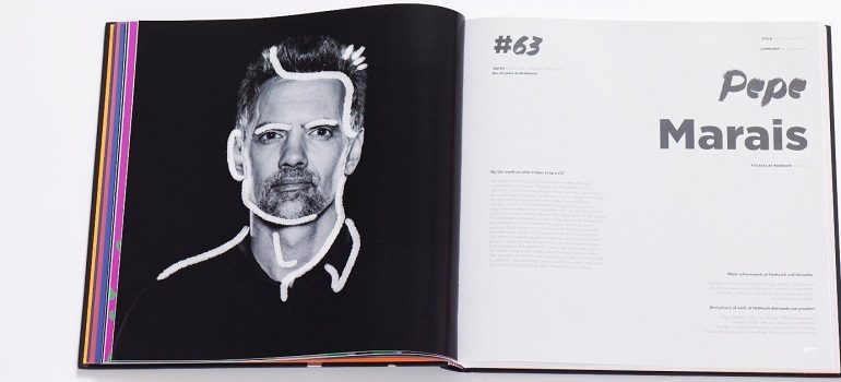 Pepe Marais DPS within Creative Director book
