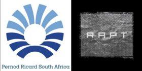 Pernod Ricard logo and RAPT logo