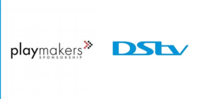 Playmakers logo and DStv logo