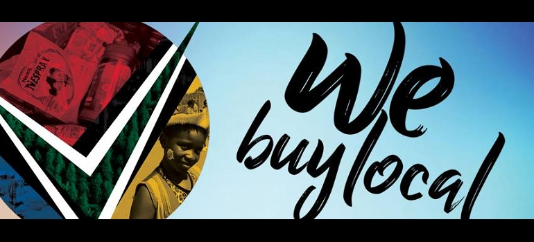 Proudly South African Facebook cover image