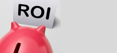 ROI piggy bank means investing financing and return by Stuart Miles courtesy of FreeDigitalPhotos.net amended for slider