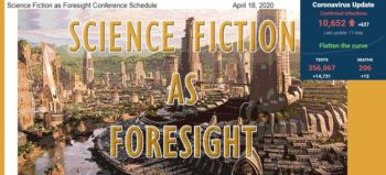 Science Fiction as Foresight Conference with SA covid-19 stats 11 May 2020 - Media Hack Collective