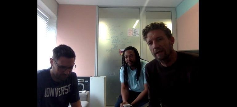 YouTube: Screengrab from Ogilvy Joburg ECD video to staff regarding covid-19