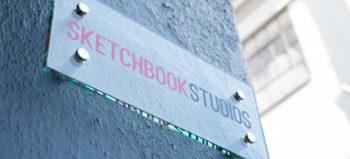 Sketchbook Studios signage