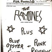Sniffin' Glue, issue 1, 1976
