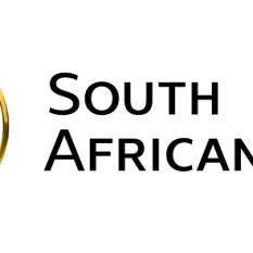 South African Mint logo 2016 white