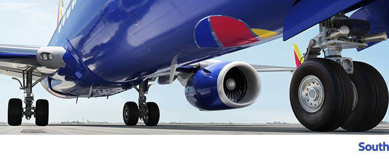 Southwest Airlines Facebook cover image