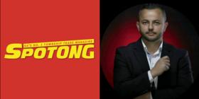 Spotong logo and Sean Press