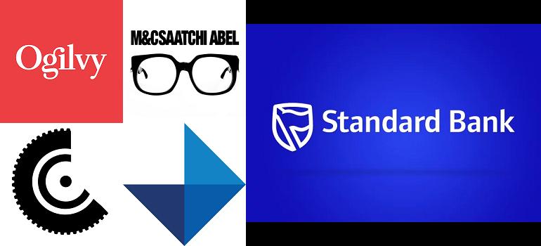 Standard Bank logo and new agency logos