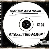 Steal This Album cd cover from System of a Down