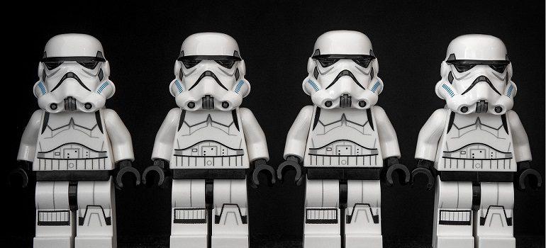Stormtrooper Star Wars Lego storm courtesy of Pixabay