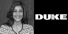 Suhana Gordhan and Duke Group logo