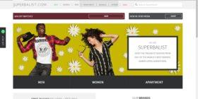 Superbalist homepage
