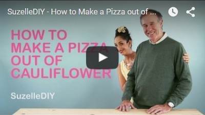 Suzelle DIY: How to Make a Pizza out of Cauliflower