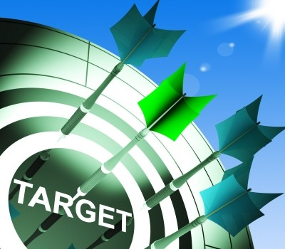 Target on Dartboard Showing Successful Shooting by Stuart Miles at FreeDigitalPhotos.net