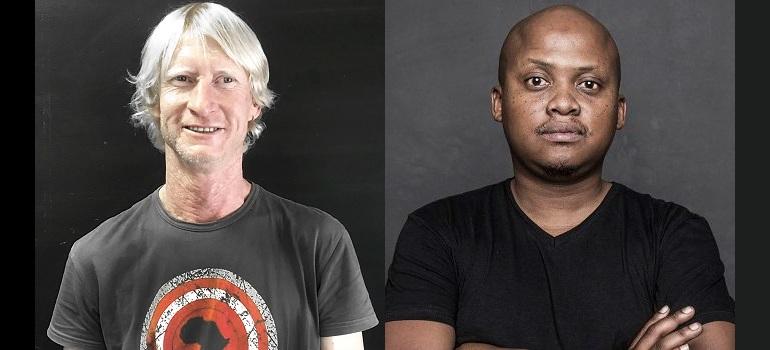 Terry Mckenna and Sbu Sitole