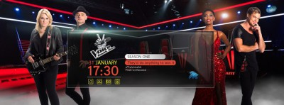 The Voice South Africa Facebook cover image
