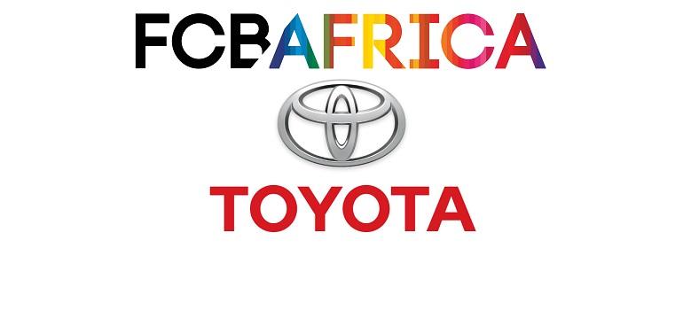 Toyota logo and FCB Africa logo