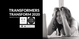 #Transformers Transform 2020 logo - credit crisis
