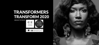 #Transformers Transform 2020 logo with Bozoma Saint John