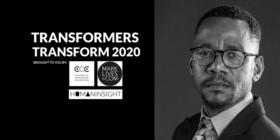 #Transformers Transform 2020 logo with Mlungisi Larry Khumalo-McArthur