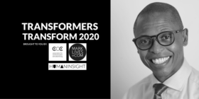 #Transformers Transform 2020 logo with Thulani Sibeko