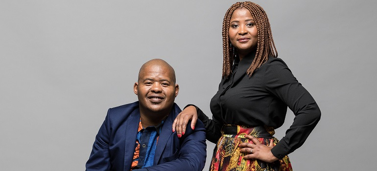 Tshepo Sefotlhelo and Palesa Madumo