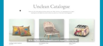 Unilever Cleanipedia Unclean Catalogue by Digitas Liquorice Durban