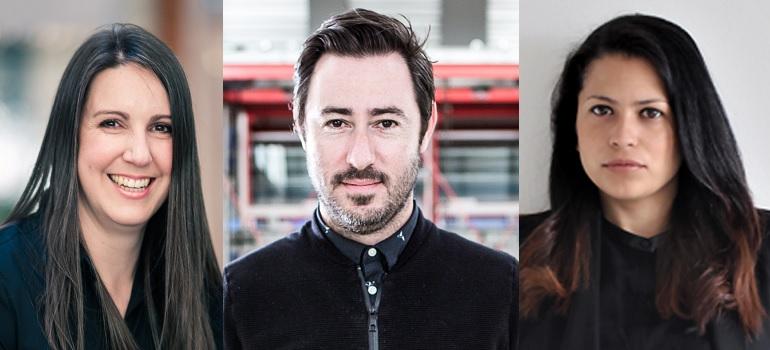 Vicki Buys, Luca Gallarelli and Tassini Albertyn