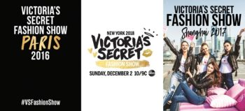 Victoria's Secret Fashion Show 2016, 2017 and 2018
