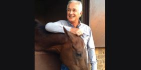 Walter Pike and a beloved horse