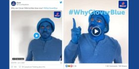 Why Clover Blue Twitter and Facebook collage