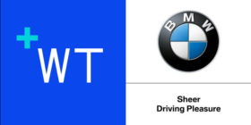Wunderman Thompson logo and BMW logo