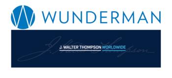 Wunderman logo and J Walter Thompson logo