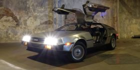 car-asphalt-delorean-parking-lot by Dave Tavres courtesy of Pixabay