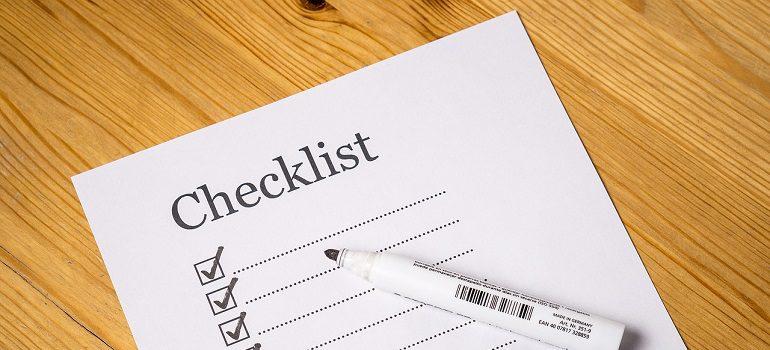 checklist check list marker courtesy of Pixabay