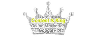 content is king online marketing courtesy of Pixabay.com amended for slider