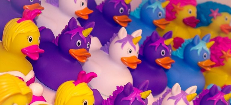 unicorn-duck-bath-duck-squeak-duck by birgl courtesy of Pixabay