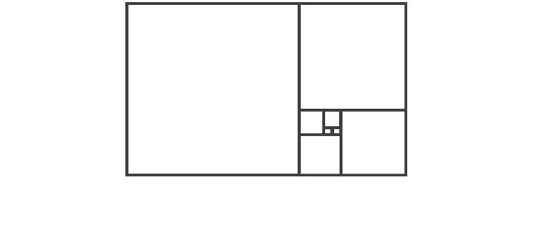 fibonacci golden ratio template courtesy of Pixabay.com amended for slider