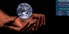 hands-globe-earth-protection by Anja courtesy of Pixabay with SA covid-19 stats 18 Aug 2020 - Media Hack Collective