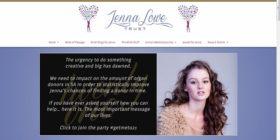 jennalowe.co.za homepage